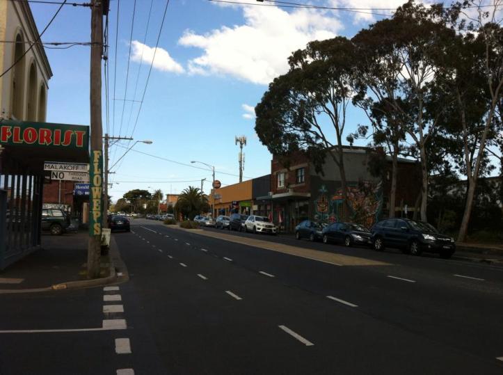 Melbourne AFL day