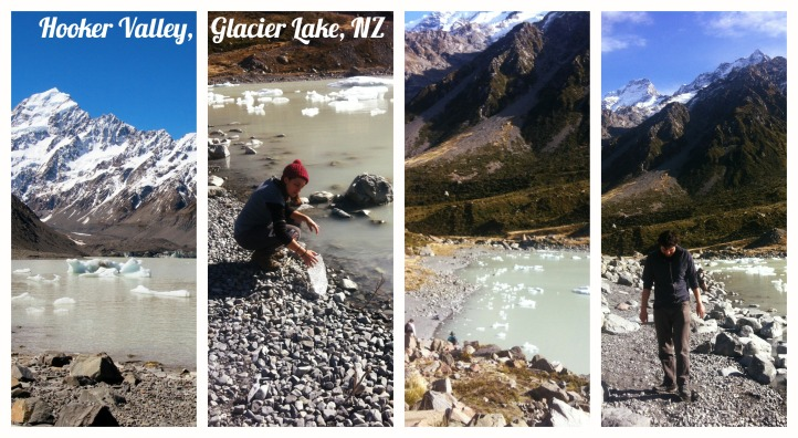 HOOKER VALLEY GLACIER lAKE