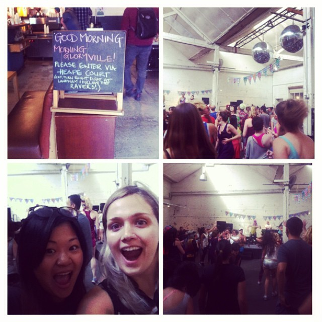 morning gloryville rave
