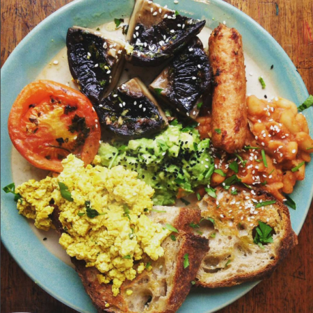 vegan full english London